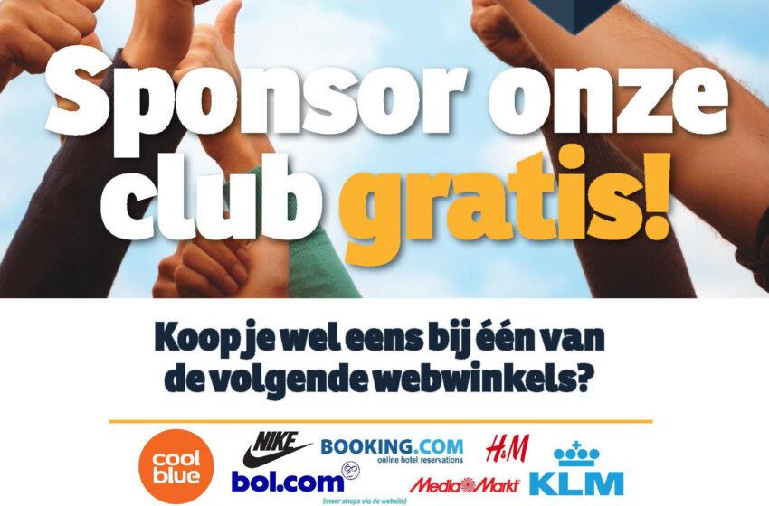 Kerstinkopen = sponsoring!
